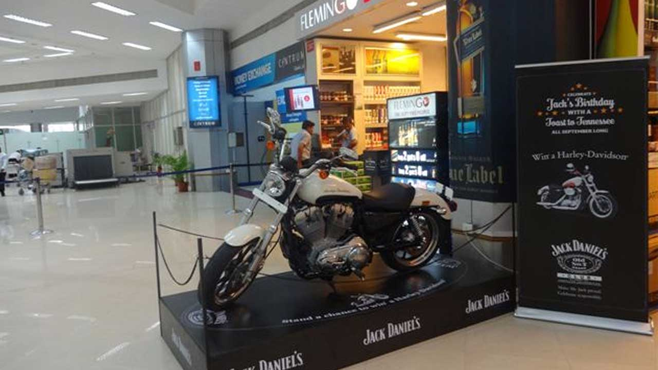 Jack Daniels promotion Chennai India