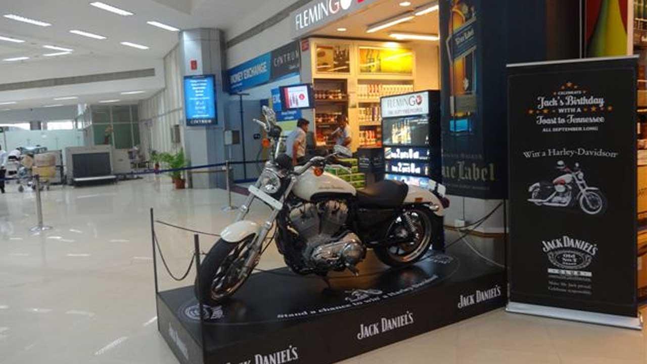 Jack Daniels promotion Chennai India
