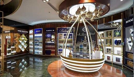 Flemingo/DFS open Pernod Ricard lux unit
