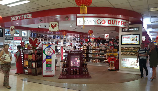 Flemingo wins the major spoils in Colombo Bandaranaike Airport duty free tender; second concession to be rebid